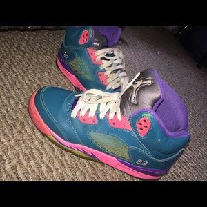 Jordan's Retro 5's
